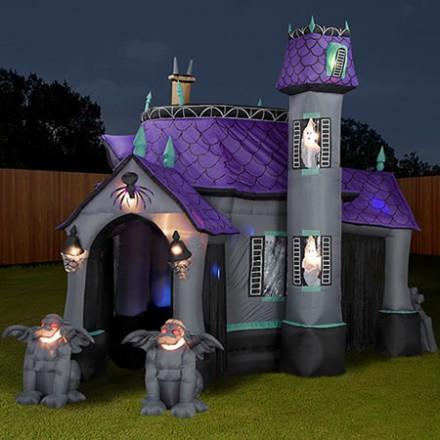 Nafukovací hrad Strašidelný dom