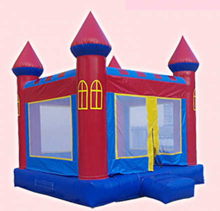 Nafukovací hrad Klasik 4